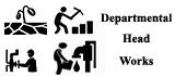 Departmental Head Work.